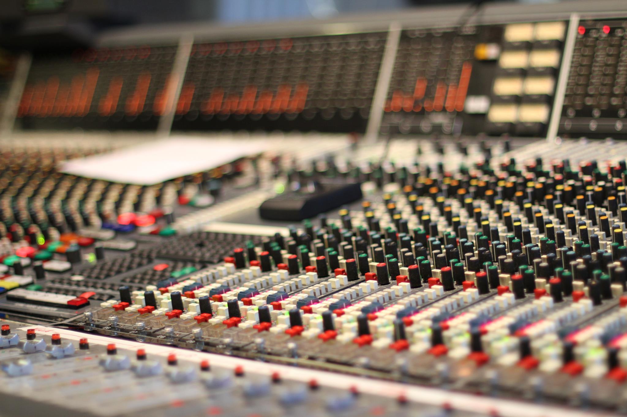 Studio A Neve Console