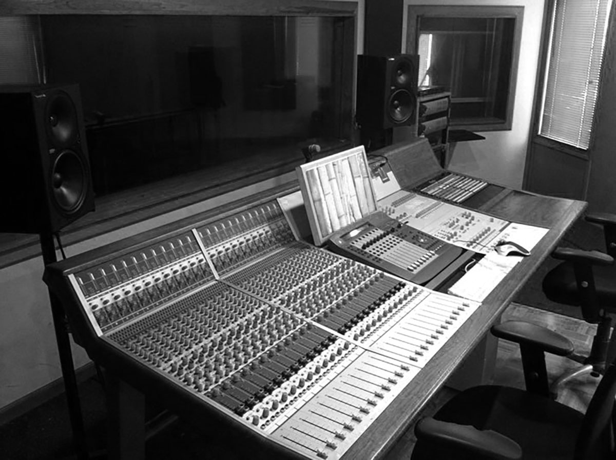 Studio C Audient Console